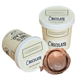 Kids Chocolate Ice Cream (Organic Milk) 473ml