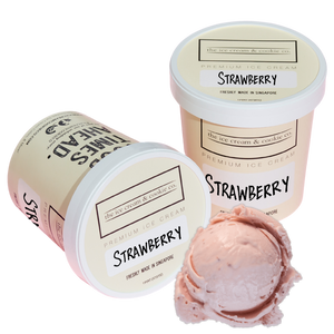 Kids Strawberry Ice Cream (Organic Milk) 473ml