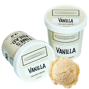 Kids Vanilla Ice Cream (Organic Milk) 473ml