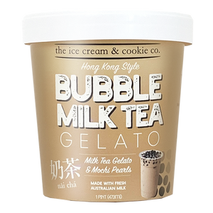 Bubble Milk Tea Gelato