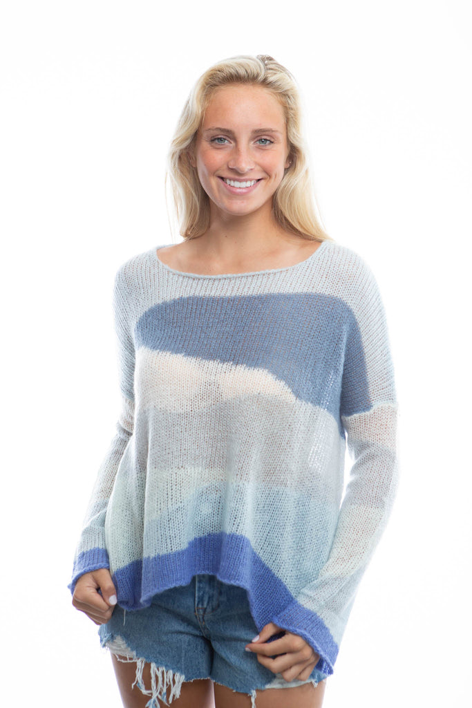 Wooden Ships Twilight Sweater