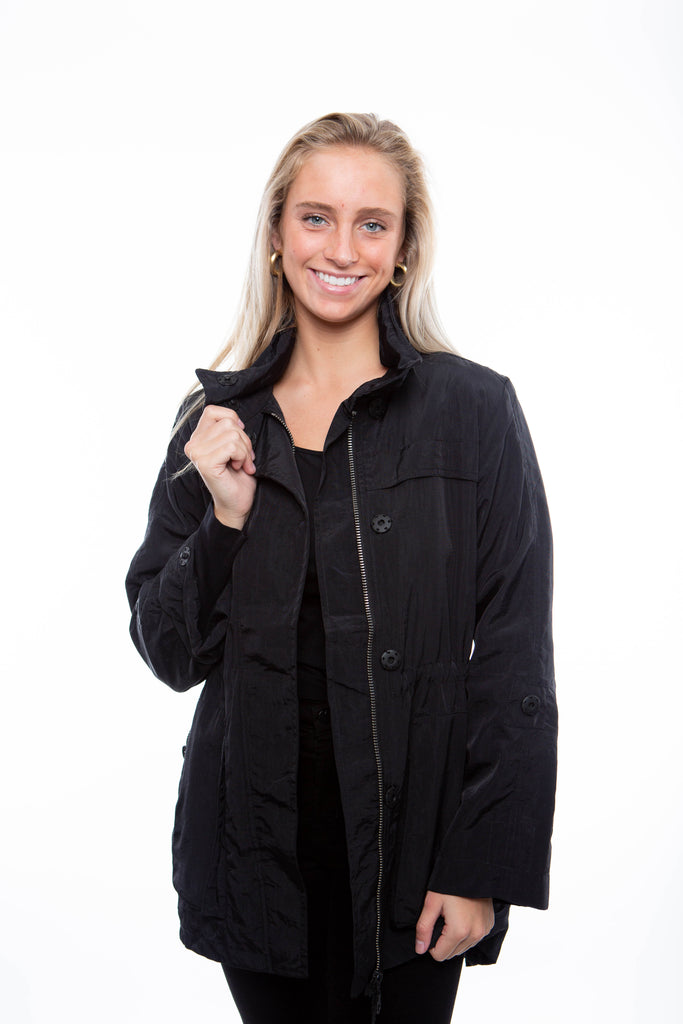 Fillmore Black Anorak