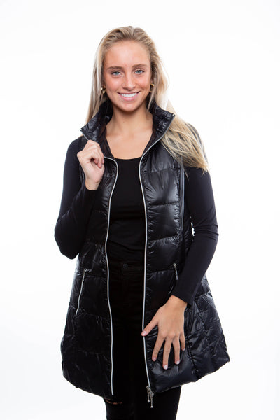 Fillmore Black Puff Vest