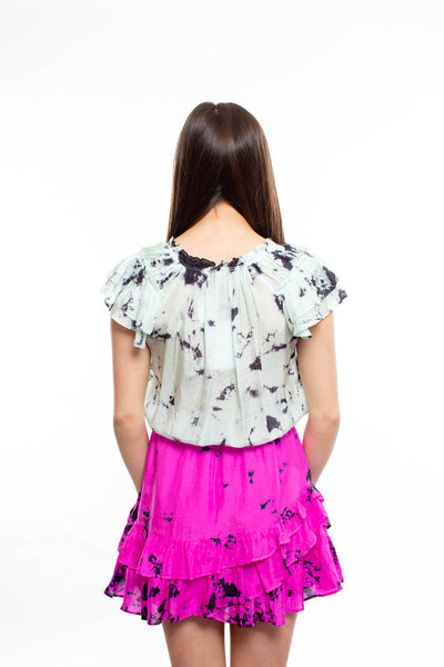 Fillmore White Puff Vest