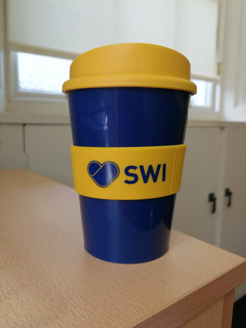 '***NEW*** SWI Reusable Travel Mug'