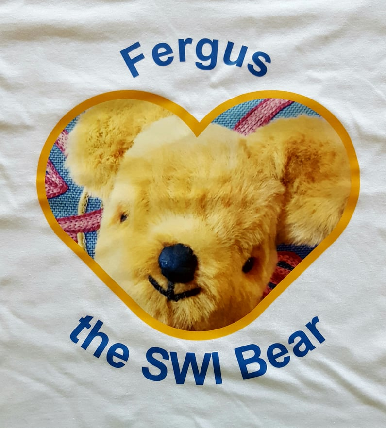 SWI Fergus the Bear Kids T-Shirt