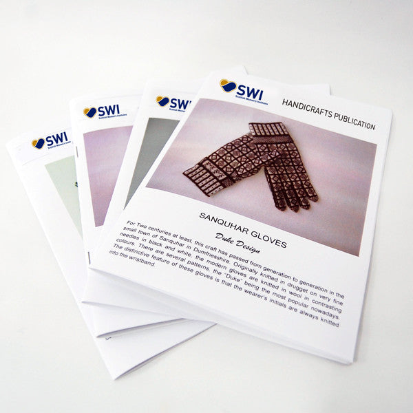 SWI Sanquhar Gloves Pattern