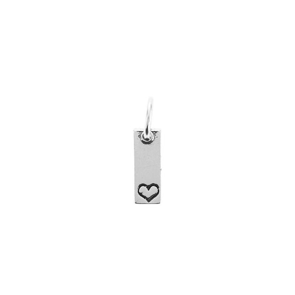 Small bar pendant | Heart