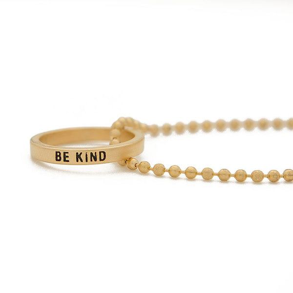 Ring Necklace | Be Kind | 36""
