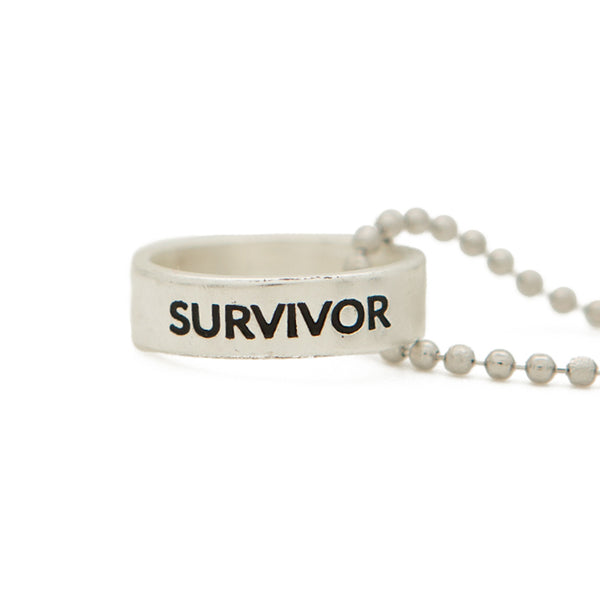 Ring Necklace | Survivor | 36""