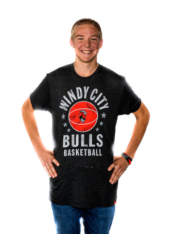 Men's Red Basketball T-Shirt