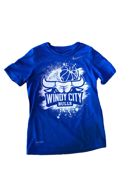 Youth Nike WCB Splatter Design T-Shirt (Blue or Green)