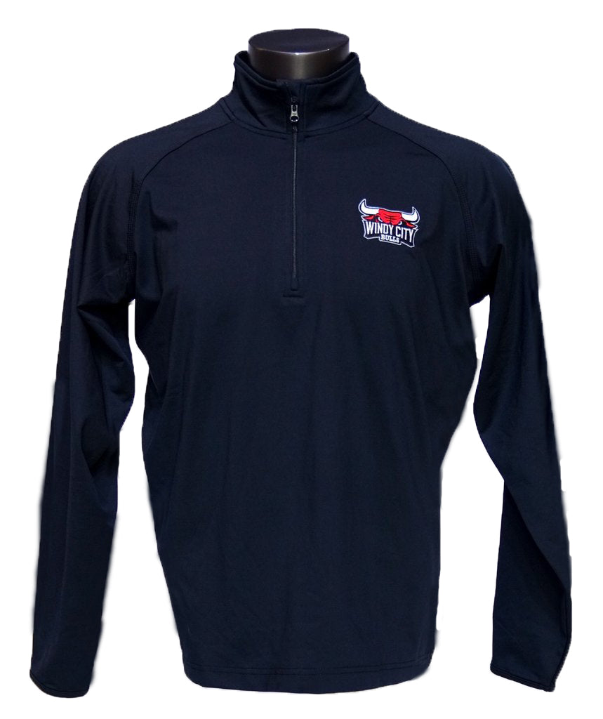 Primary Logo Men's Sport-Tek Pullover (Black)