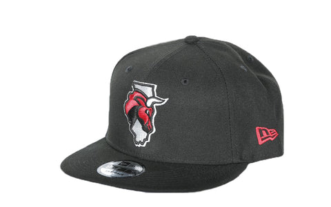 New Era Secondary Logo Black Snapback