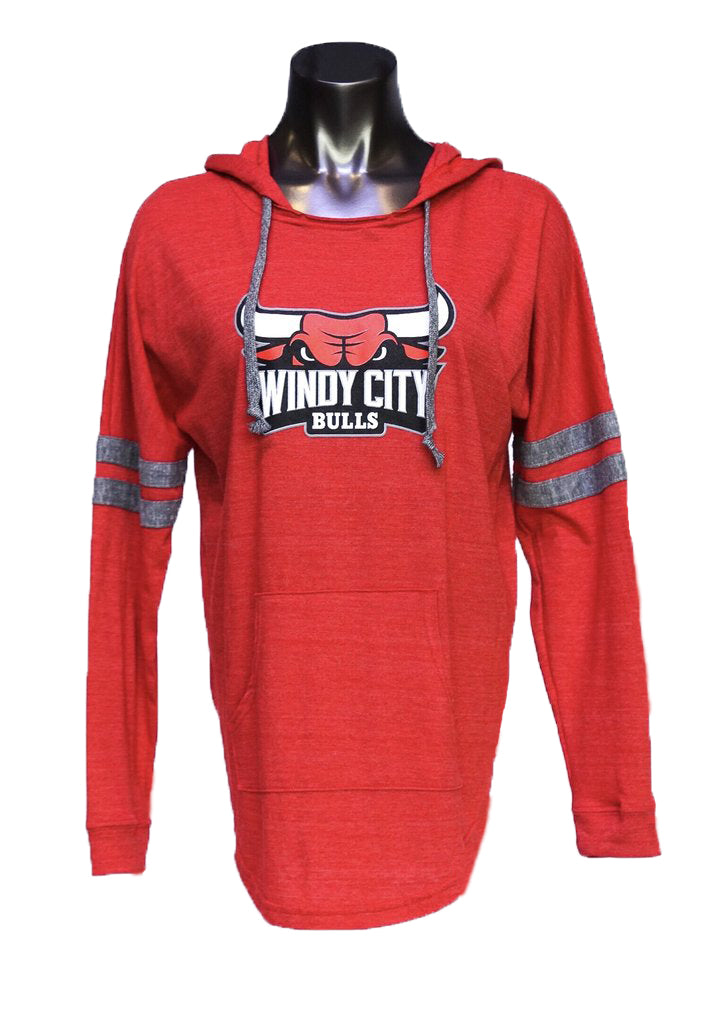 Women's Primary Logo Pullover Hoodie (Red)