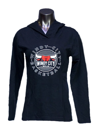 Women's Sweatshirt Primary Logo (Black)