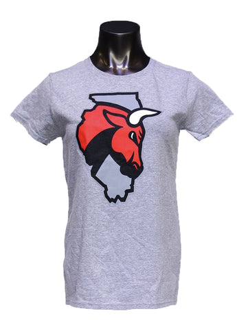 Women's WCB Secondary Logo S/S Tee - Red, Dark Gray or Light Gray