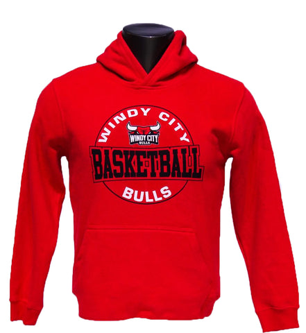 Youth Windy City Bulls Red Hoodie