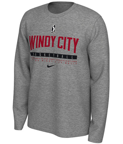 Men's Nike Dry Tee Practice Long Sleeve - Red, Black or Gray (Line)