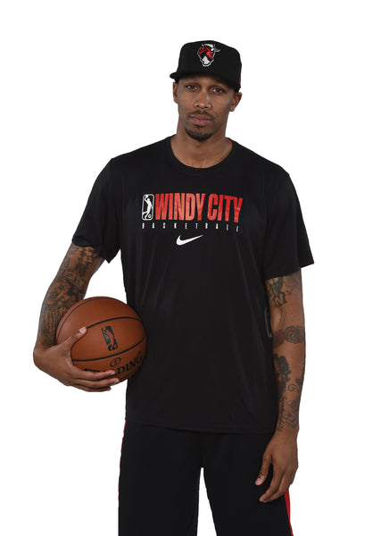 2019-2020 Men's Nike Dry Tee Practice Short Sleeve - Black