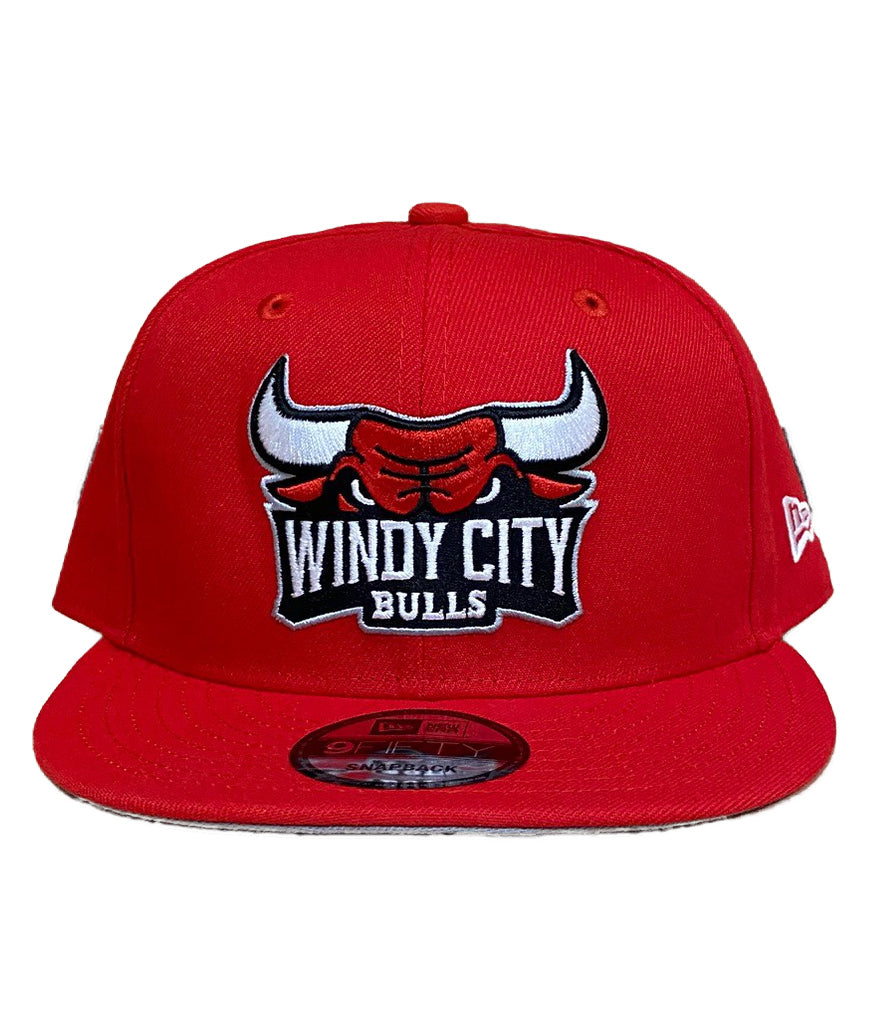 New Era WCB Logo Red Snapback