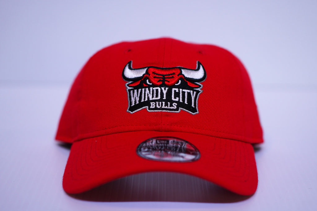 WCB Primary Red Logo Baseball Hat – Windy City Bulls Shop 2d71aeac926