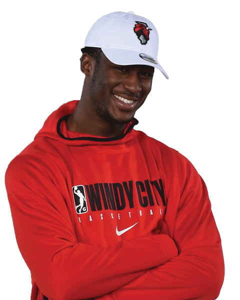 New Era Secondary Logo White/Red Cap