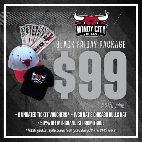 Windy City Bulls Black Friday Special!
