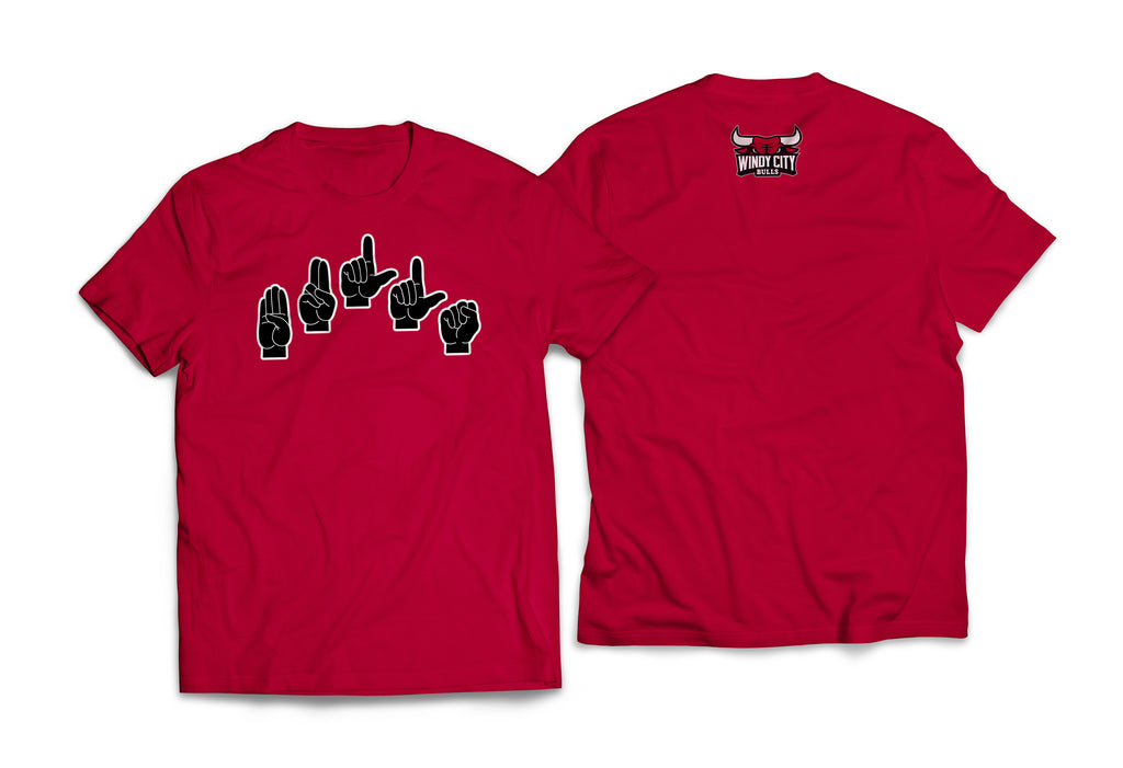 "Limited Edition ASL ""Bulls"" T-Shirt (Adult)"