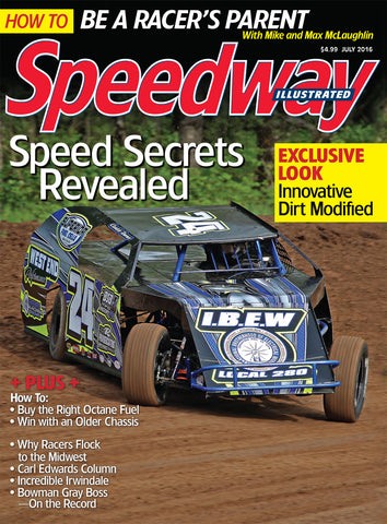July 2016 Speedway Illustrated