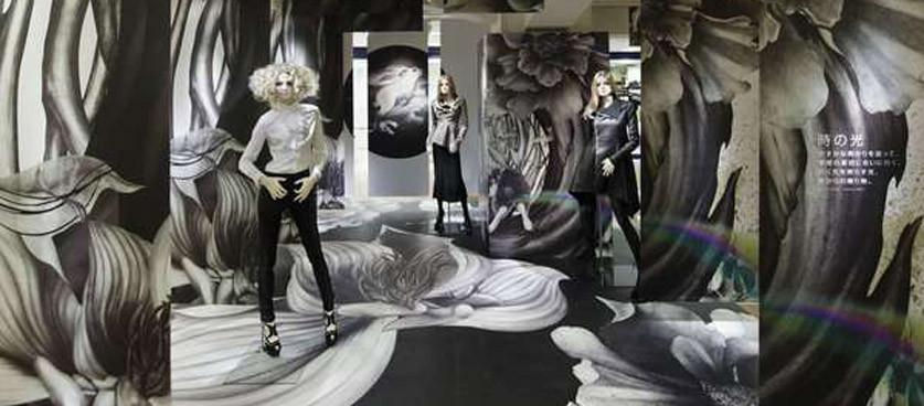 Attracting Attention With Surreal Window Display Design