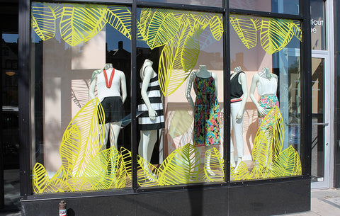 How To Create A Summer Themed Window Display Mannequin Mall