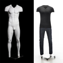 Male Invisible Ghost Mannequin Full Body MM-MZGH3