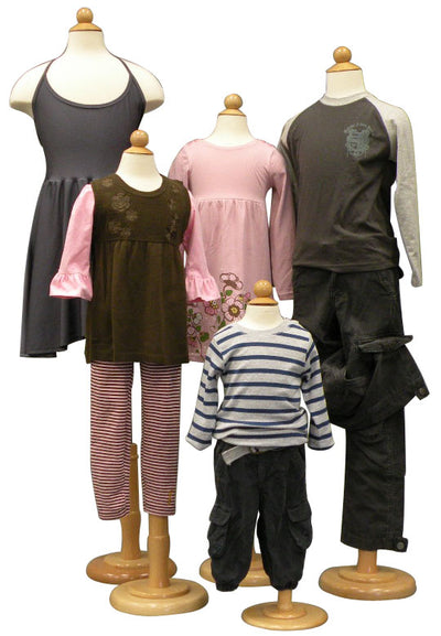 Child Display 3/4 Dress Form MM-JF11C