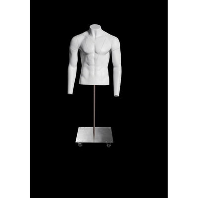 Ultimate Invisible Ghost Male Mannequin Torso MM-GH1-2M