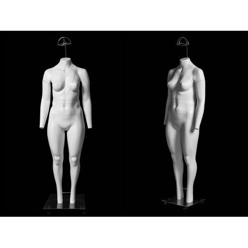 Plus Size Female Invisible Ghost Mannequin Full Body for Photography (Ver 2.0) MM-GH24