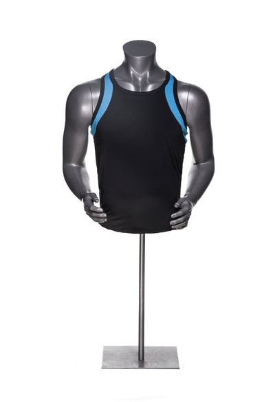 Athletic Male Mannequin Torso MM-HEF08T