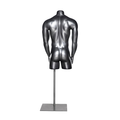 Athletic Male Mannequin 3/4 Torso MM-HEF42T