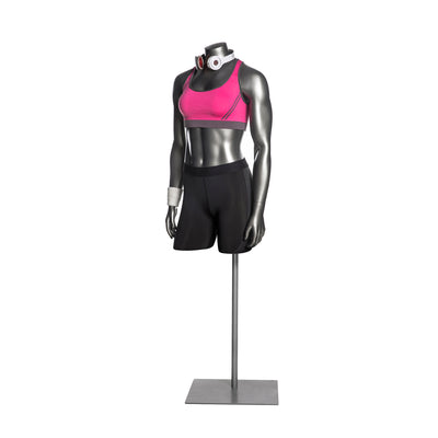 Athletic Female Mannequin 3/4 Torso MM-HEF43T
