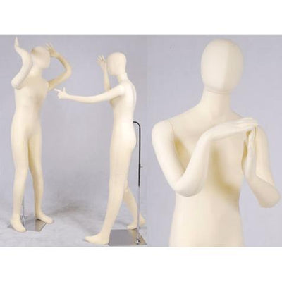 "Best Seller 5'10"" Flexible Female Mannequin MM-FSOFTEE For Fashion Stores and Retail Shops"
