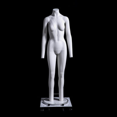 Best Seller Female Invisible Ghost Mannequin Full Body for Photography (Version 2.0) MM-MZGH5 For Fashion Stores and Retail Shops
