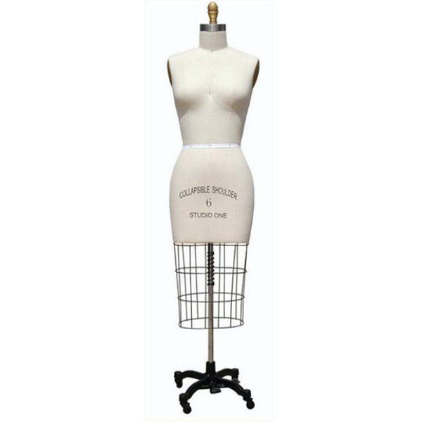 Adjustable Dress Form Sew Mannequin Clothes Maker Female Body Figure Small New