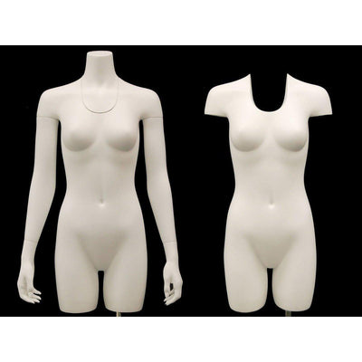 Best Seller Invisible Ghost Mannequin Female Torso w/ Base MM-TFWIV For Fashion Stores and Retail Shops