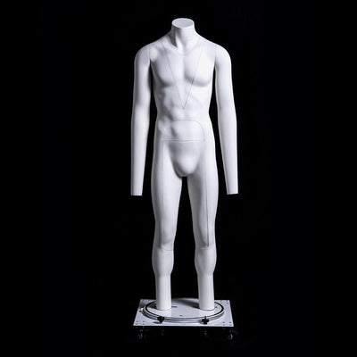 Best Seller Male Invisible Ghost Mannequin Full Body for Photography (Version 2.0) MM-MZGH4 For Fashion Stores and Retail Shops