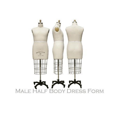 Best Seller Male Professional Dress Form (Half Body) For Fashion Stores and Retail Shops