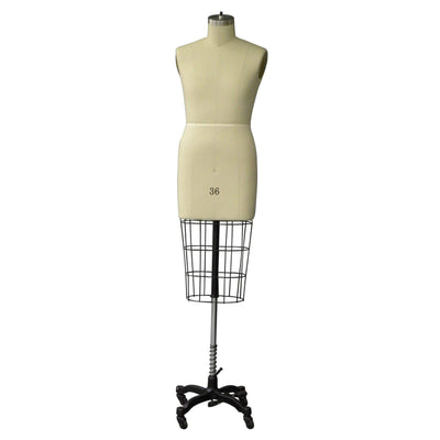 Best Seller Size 36 (S) Male Professional Dress Form (Half Body) For Fashion Stores and Retail Shops