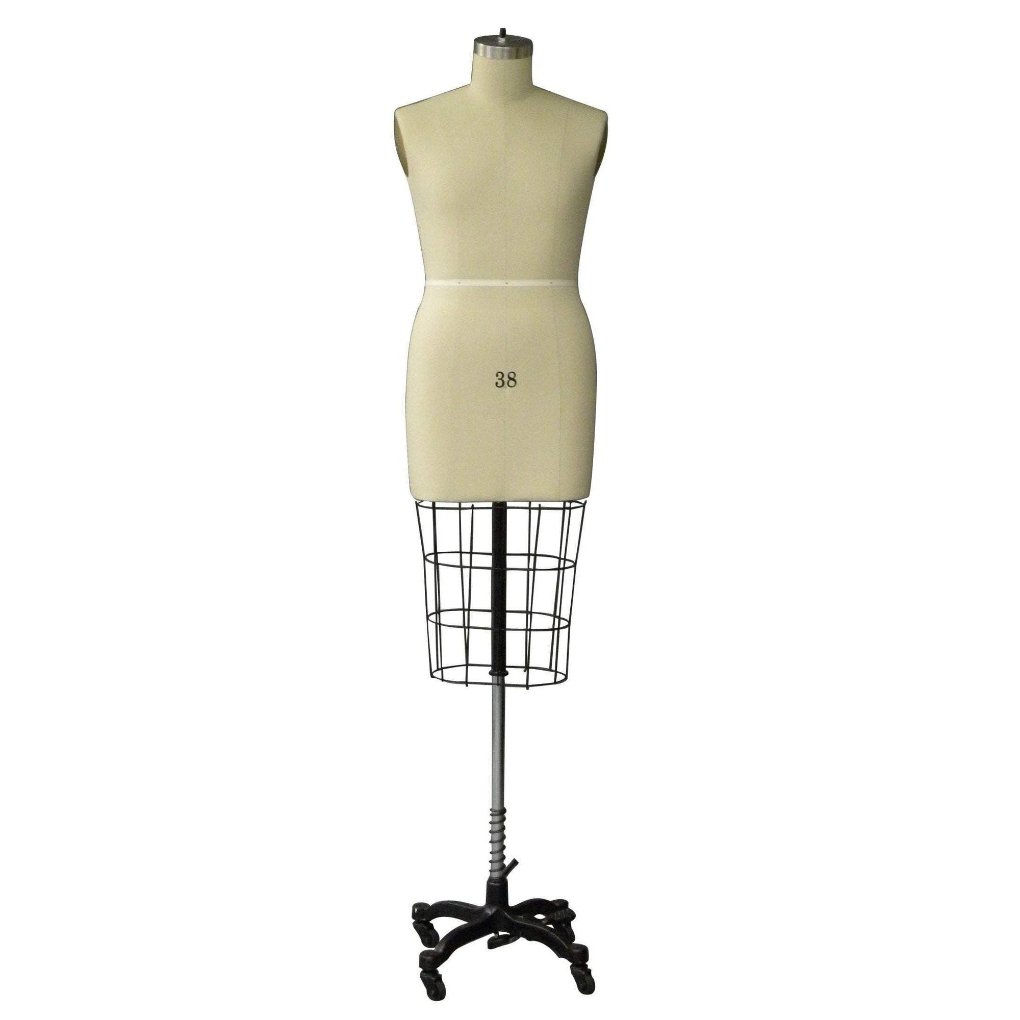 Male Professional Dress Form Half Body Mannequin Mall