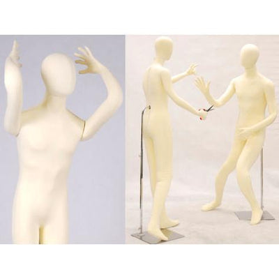 "Best Seller White 5'10"" Flexible Female Mannequin MM-FSOFTEE For Fashion Stores and Retail Shops"