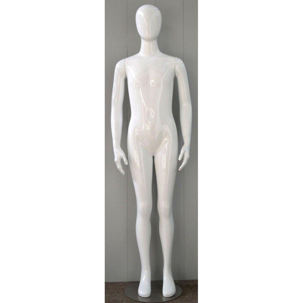 Mannequin Mall 12 Year Old Child Abstract Mannequin MM-CW12YEG For Fashion Stores and Retail Shops