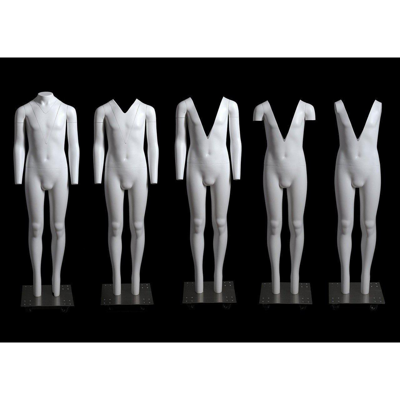 Mannequin Mall 12 Years Old Child Invisible Ghost Mannequin for Photography MM-GHK12 For Fashion Stores and Retail Shops